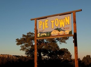Yes, there is really a Pie Town
